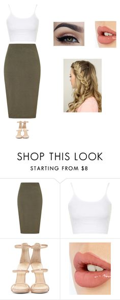 """Twenty two. One."" by fahion-dreamer ❤ liked on Polyvore featuring Lipsy, Topshop, Giuseppe Zanotti and Charlotte Tilbury"