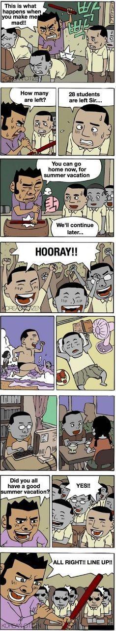 Korean Comic: Punishment