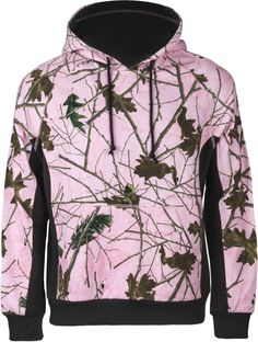 Women's Pink Forest Camo Cambrillo Hooded Sweatshirt