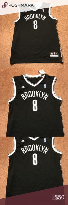 D-will Brooklyn Nets Jersey new w tag Brooklyn Nets DWill jersey! Adidas! Medium fits like Large! New with tag! Adidas Shirts Tank Tops