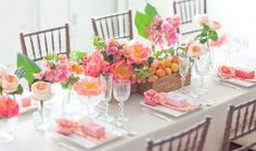 How to Throw the Sweetest Spring Dinner Party