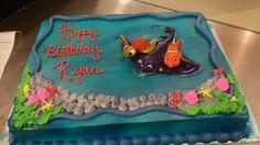 Finding Nemo Sheet Cake