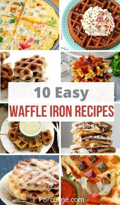 Brunch Recipes, Sweet Recipes, Snack Recipes, Brunch Foods, Dessert Recipes, Game Recipes, Savory Breakfast, Breakfast Dishes, Waffle Pops