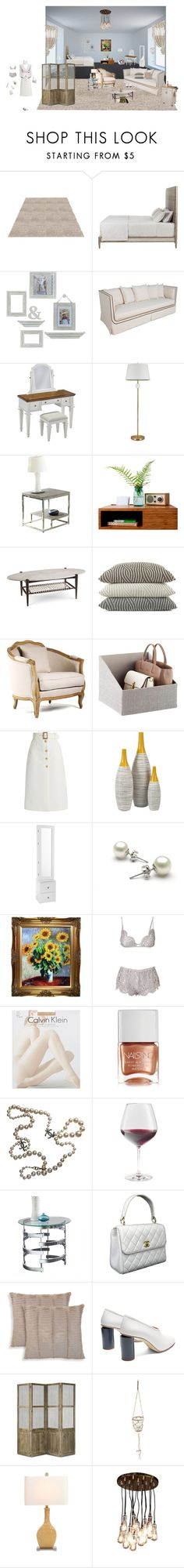 """#428"" by nicoleeboni ❤ liked on Polyvore featuring beauty, Melannco, Gabby, Home Styles, cupcakes and cashmere, Steve Silver, A.R.T. Furniture, Peacock Alley, Maison Blanc and Bella Freud"