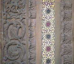 architectural detail - Byzantine/Romanesque - Monreale Cathedral, Sicily