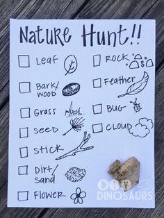 Nature Scavenger Hunt -