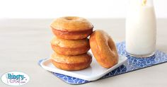 I've never met a donut I didn't like… These treats are easy to make & low in calories! So go bake some NOW!