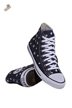b2d157a7108c Converse Chuck Taylor All Star Hi Sneakers Navy/Fresh Yellow/White Size 9  Women