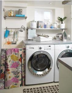 Laundry Room Organization Ideas: Your Tidy Laundry Room Solution : Small Laundry Room Decor Laundry Tubs, Laundry Room Sink, Basement Laundry, Small Laundry Rooms, Laundry Room Organization, Laundry Room Design, Laundry Area, Laundry Storage, Garage Laundry