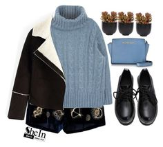 """""""#Shein"""" by credentovideos ❤ liked on Polyvore featuring Emilio Pucci, Michael Kors, Lux-Art Silks, women's clothing, women's fashion, women, female, woman, misses and juniors"""