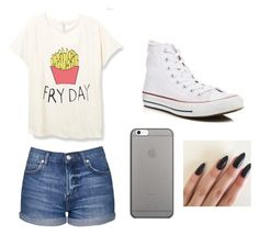 """""""Chillin on Friday"""" by danielle09-1 on Polyvore featuring Topshop, Converse and Native Union"""
