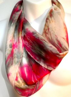 Sophisticated Accessories Silk Scarf one a by SilkScarvesJoanReese, $40.00