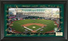 Oakland Athletics... http://www.757sc.com/products/oakland-athletics-2017-team-signature-autograph-field-12x20-l-e-of-5000?utm_campaign=social_autopilot&utm_source=pin&utm_medium=pin #nfl #mlb #nba #nhl #ncaaa #757sc