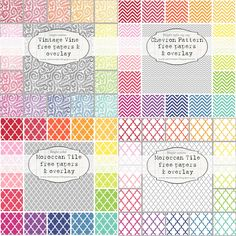 Patterned printables