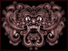 barong tattoo design