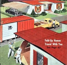 Fold Up Homes of the 1950s | Mobile and Manufactured Home Living