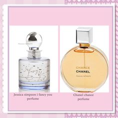 Jessica simpson i fancy you perfume is similar to chanel chance perfume