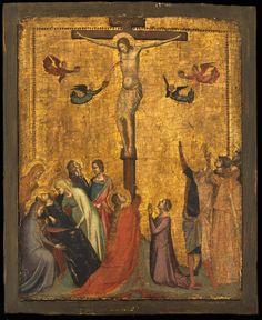 Bernardo Daddi - Crocifissione - 1328 - Museum of Fine Arts, Boston
