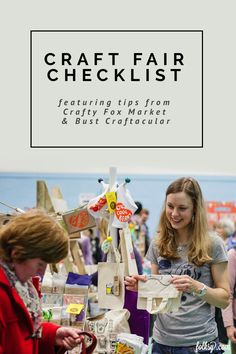 What are the essentials you need to remember when selling at craft fairs? We asked craft fair experts Sinead Koehler, co-founder ofphenomenalCrafty Fox Market,andVictoria...