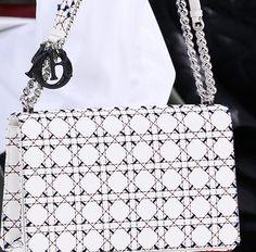Dior's Spring 2015 Collection, Sharp Shoulder Bags