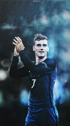 Football Icon, Best Football Players, World Football, Football Match, Soccer Players, Football Fans, Football Season, Antoine Griezmann, France Players