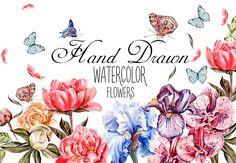 Akvarell virágcsomag - csak $ 49 $ 25   InkyDeals