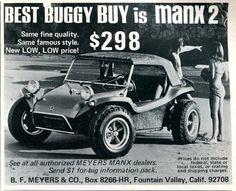 1969 Manx 2 Buggy Advertising Hot Rod Magazine October 1969