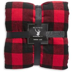 Lord & Taylor Buffalo Check and Sherpa Throw ($95) ❤ liked on Polyvore featuring home, bed & bath, bedding, blankets, red, red throw blanket, red blanket, buffalo plaid bedding, faux throw and faux throw blanket
