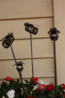 Could put an LED garden light in to make lightening bugs