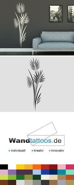 Wandtattoo Blätterstrauch als Idee zur individuellen Wandgestaltung. Einfach Lieblingsfarbe und Größe auswählen. Weitere kreative Anregungen von Wandtattoos.de hier entdecken!
