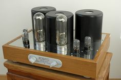 KORATO Prometheus Single Ended Amplifier with 211 Western Electric tubes