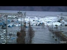 Tsunami in Iwaki City, Fukushima prefecture - YouTube