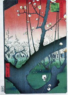 The Flowering Plumtree Hiroshige