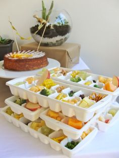 toddler party snack trays