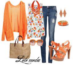 My honey says I look great in neon/blaze orange. I need more in my closet!