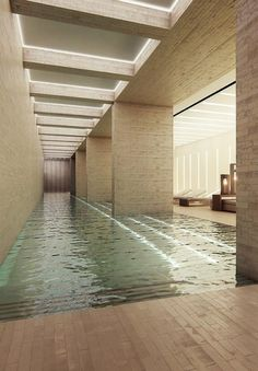 thermes de spa, bains d'eau curative, architecture en pierre spéciale
