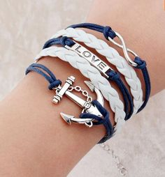 2016 2015 Promotion Discount Steampunk Bradided Wax Cords Love Anchor Owl Hungry Games Charms bracelets & Bangles man and women //Price: $US $0.46 & Up To 18% Cashback //     #steampunktendencies