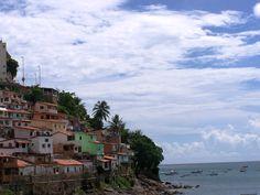Vista do Museu de Arte Moderna da Bahia. Salvador- BA