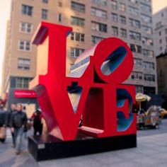 Love sign photo New York City photo valentine New Yor by pixamatic