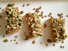"""Pasta jajeczna z ziarnami"" - Przepisy BLW Menu, Bread, Food, Menu Board Design, Brot, Essen, Baking, Meals, Breads"