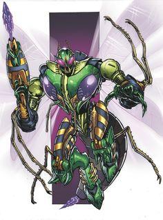 "Transformers: Robots in Disguise #19 Variant ""Waspinator"" - Phil Jimenez & Rom Fajardo"