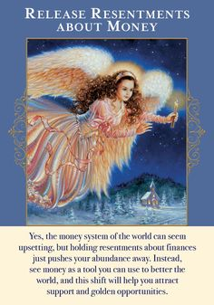 Oracle Card Release Resentments About Money | Doreen Virtue - Official Angel Therapy Website
