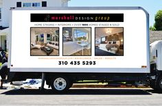 Client: Marshall Design Group | Project: Vehicle Wrap | ArtfulMind.Biz: Print/Online Advertising Visibility Expert