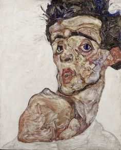 Egon Schiele: Self Portrait