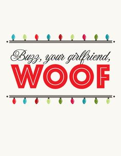 Name that Christmas movie by Amber Luke, via Behance, plus nice typography and clean illustration