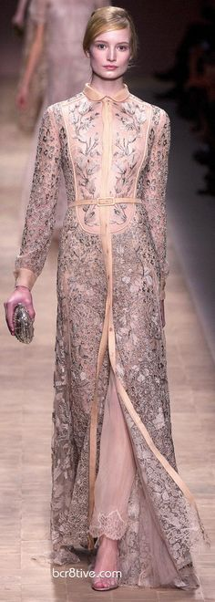 Valentino Primavera-Verão 2013 Ready To Wear Collection - Vestido de Noite