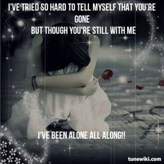 """""""My Immortal"""" by Evanescence Evanescence Lyrics, Amy Lee Evanescence, Music Is My Escape, Music Is Life, Bring Me To Life, Hollywood Undead, Halestorm, My Favorite Music, Lyric Quotes"""