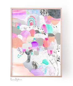 Laura Blythman — Limited Edition Print // Moon Reef