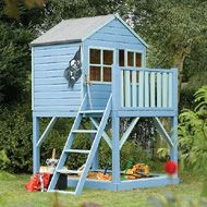 Outdoor Playhouse Ideas | treetops playhouse more info this simple playhouse gives even the ...