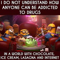 Straight up. So many other better addictions!!! Haha